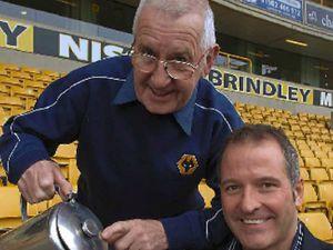 Graham Hughes and Steve Bull