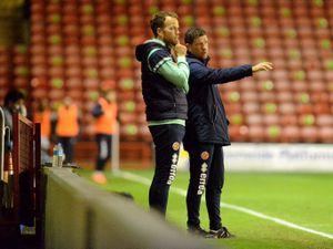 SPORT COPYRIGHT EXPRESS AND STAR STEVE LEATH 13/10/2020..Walsall FC V Leyton Orient FC.  W:  Darrell Clarke..