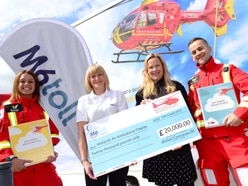 Midlands Air ambulance scoops £20k prize to educate next generation