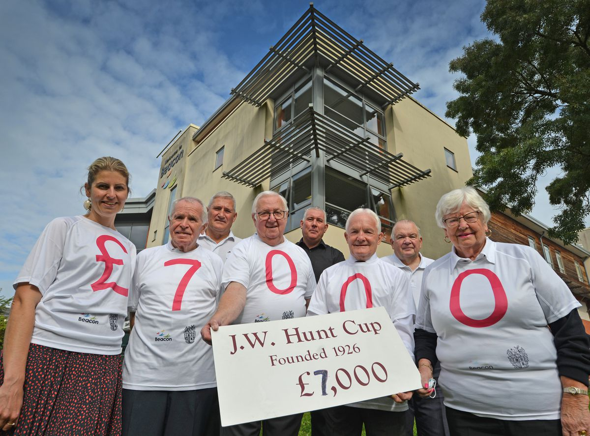 The Beacon centre is supported by the JW Hunt Cup