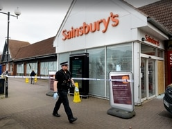 Sainsbury's forced to close as windows smashed overnight