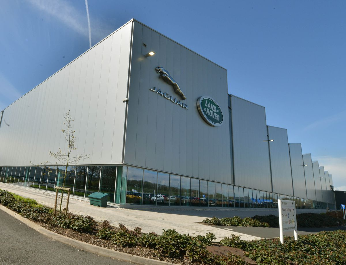 Around 1,800 people work for JLR at the i54, next to the M54 motorway