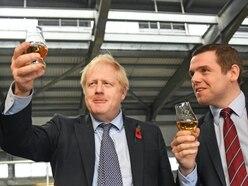 Boris Johnson congratulates new leader of Scottish Tories