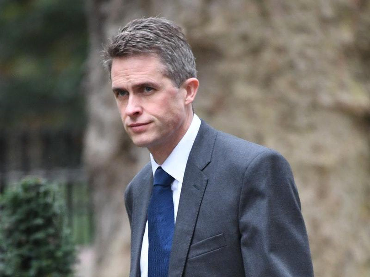Defence Secretary Gavin Williamson, who said recently he was saddened that protection against 'spurious prosecutions' would not be given to service personnel in time for Thursday's proceedings in Londonderry