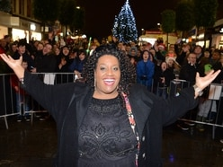 Alison Hammond leads Dudley Christmas lights switch-on
