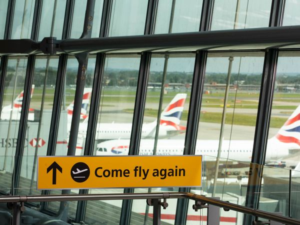 Heathrow Airport Come Fly Again initiative