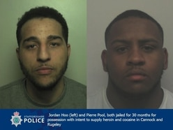 County lines dealers jailed after being caught in Staffordshire