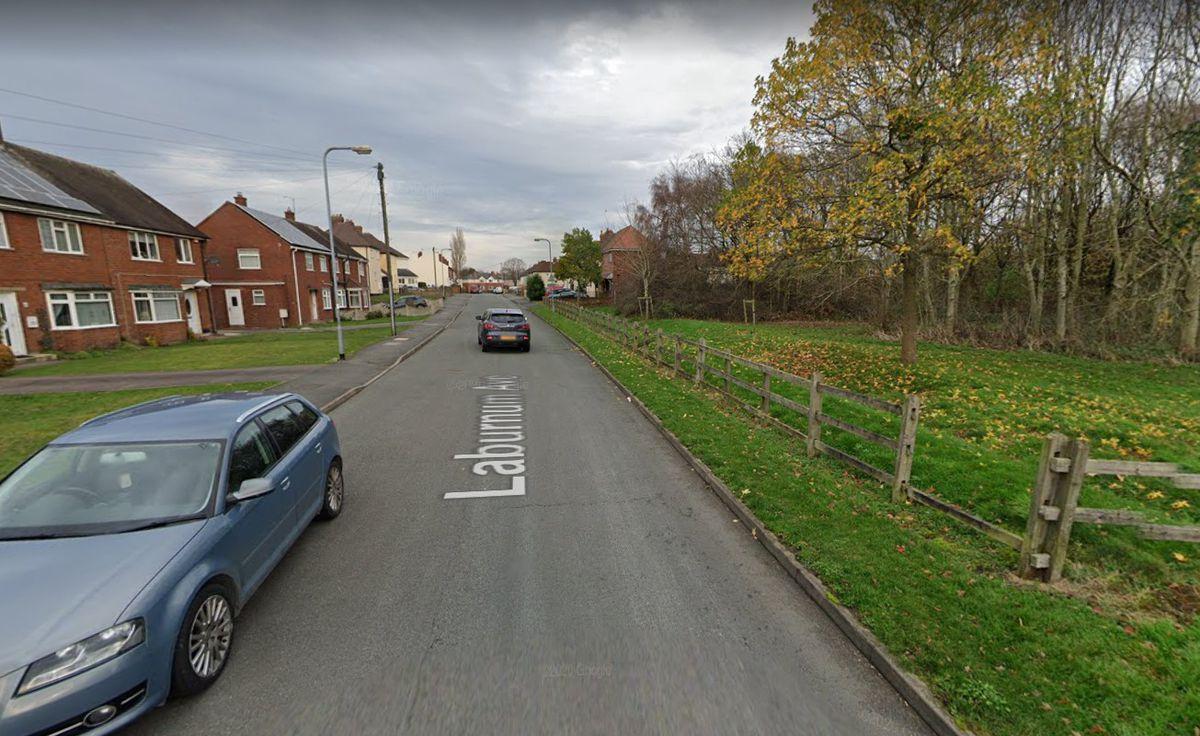 Laburnum Avenue, in Cannock. Photo: Google Maps
