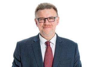 Stafford Borough Council's chief executive Tim Clegg