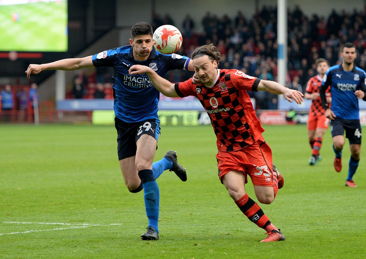Andreas Makris has left Walsall after less than a year at the Banks's.