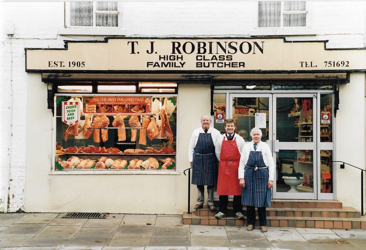 Fred Robinson, Steve Robinson and Alan Robinson