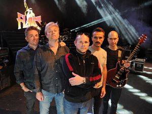 Flash are, from the left, Daniel Wilkes, Tom Bissell, John Holden, Claudio Desideri and Nathan Mathers