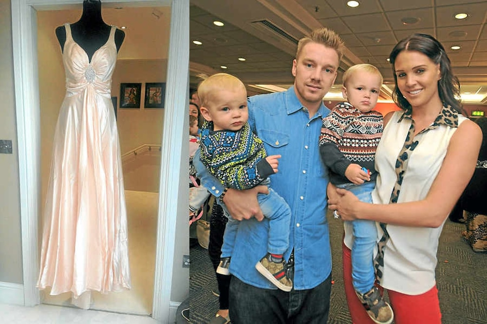 Danielle Lloyd gowns up for grabs on eBay   Express & Star
