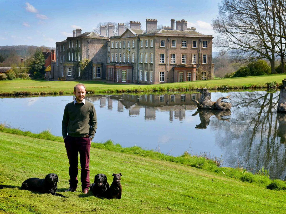 George Williams and Enville Hall, his family home, will be opening the gardens