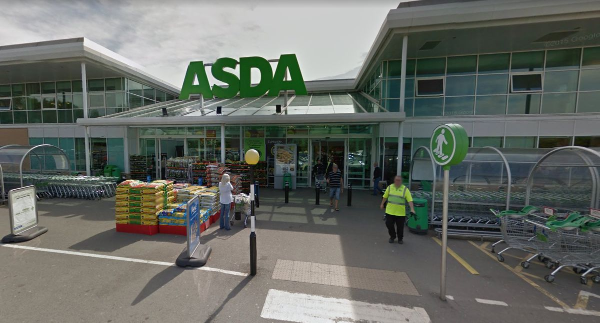 The Asda supermarket in Great Barr