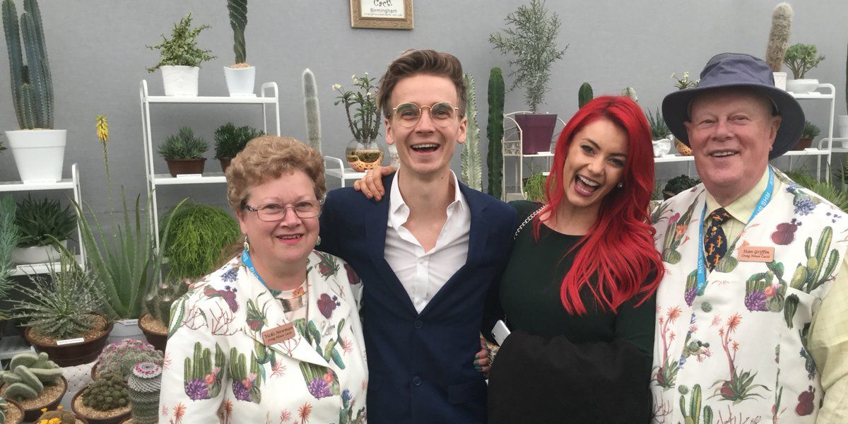 The duo met Strictly stars Joe Sugg and Dianne Buswell