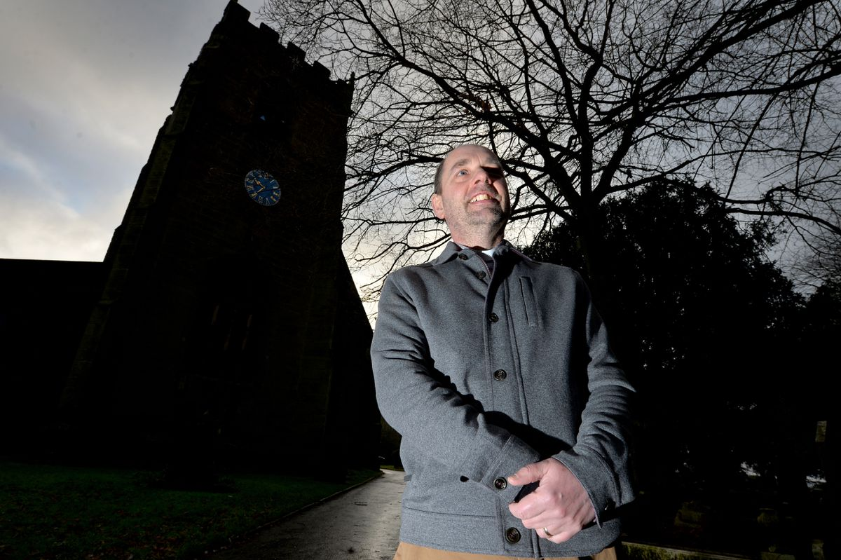 Rev Dr Ian Poole said St Mary's Church was prepared for online worship, but added he'd have liked to keep the church open