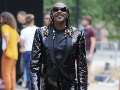 Lenny Henry transforms into Stevie Wonder for BBC birthday show - in pictures