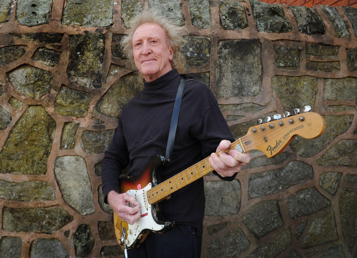 Musician Kenny Craig, at Mill Bank, Sedgley