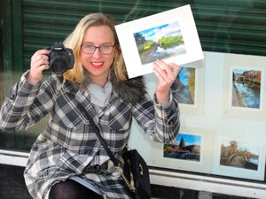 DUDLEY PIC / DAVID HAMILTON PIC / EXPRESS AND STAR PIC 15/2/21 Sally Shillingford, of Kinver, who has some of her photographic work exhibited at Swan Centre, Kidderminster..