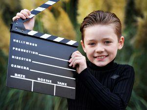 Nine-year old Wolverhampton lad, Taylor Simner