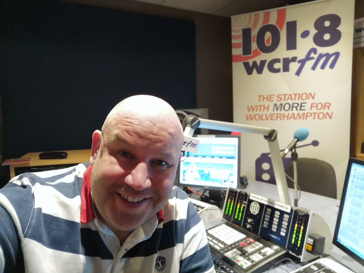 Dicky is now a presenter at 101.8 WCR FM in Wolverhampton