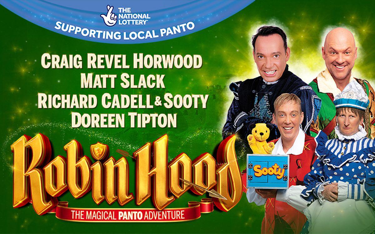 Robin Hood will run at the Alexandra in Birmingham in January