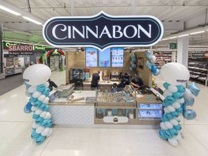 Bakery Cinnabon is now a feature at Asda in Walsall