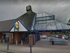 Hammer raiders leave three injured at Wolverhampton Lidl