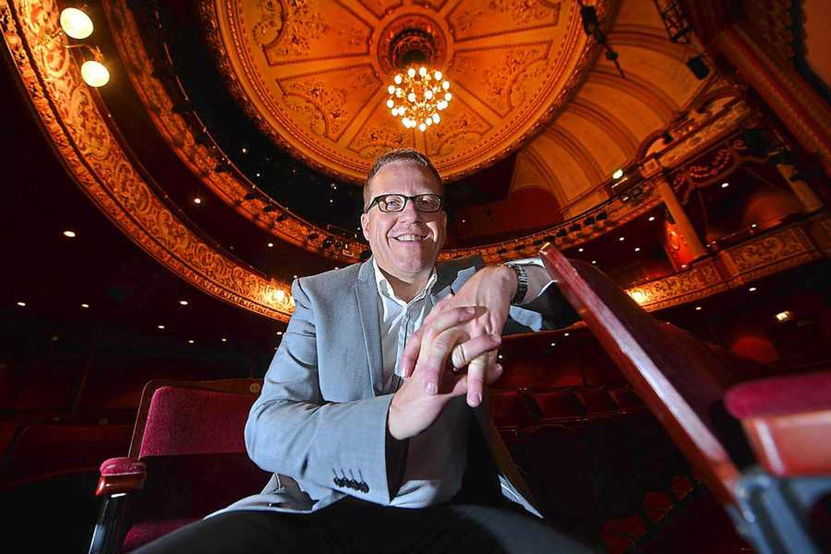 The new chief executive of Wolverhampton's Grand Theatre: Adrian Jackson from Lichfield.