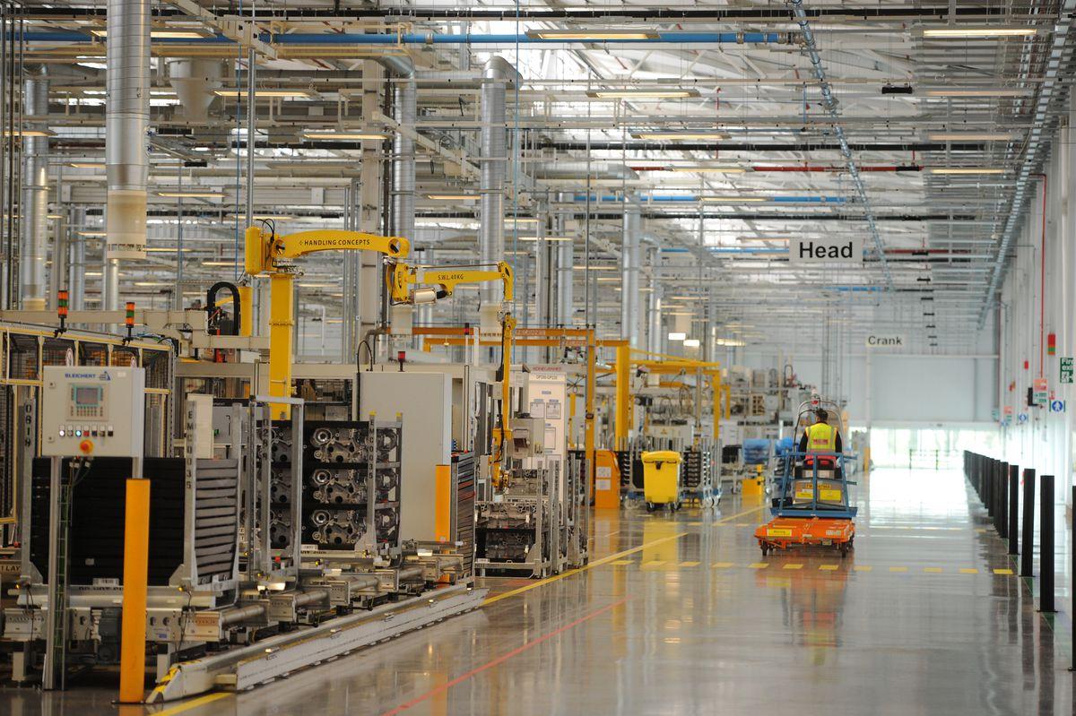 Around 1,600 people work for JLR in Wolverhampton