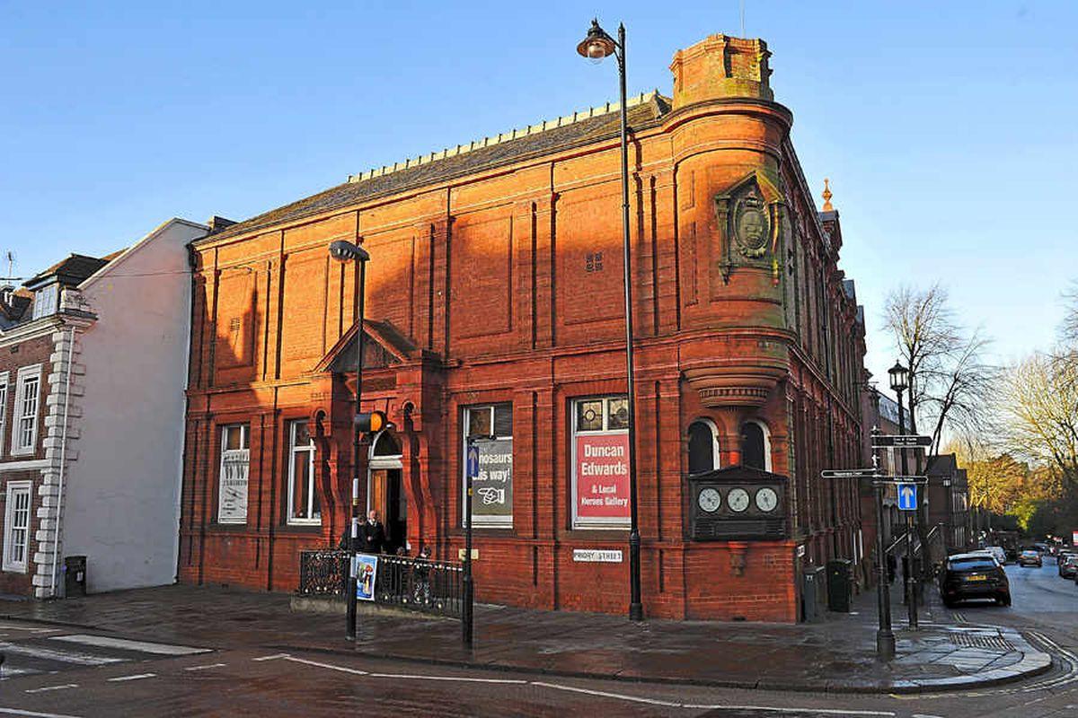 Dudley Museum opened in 1912 but has now been shut