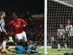 Paul Pogba stars on return from injury as Manchester United crush Newcastle