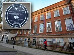 Blue plaque row after 'copycat' design revealed outside Arena Theatre