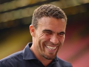 Valerien Ismael the head coach / manager of West Bromwich Albion.