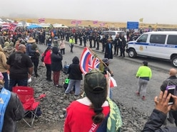 Elderly Native Hawaiians arrested in protest against telescope construction