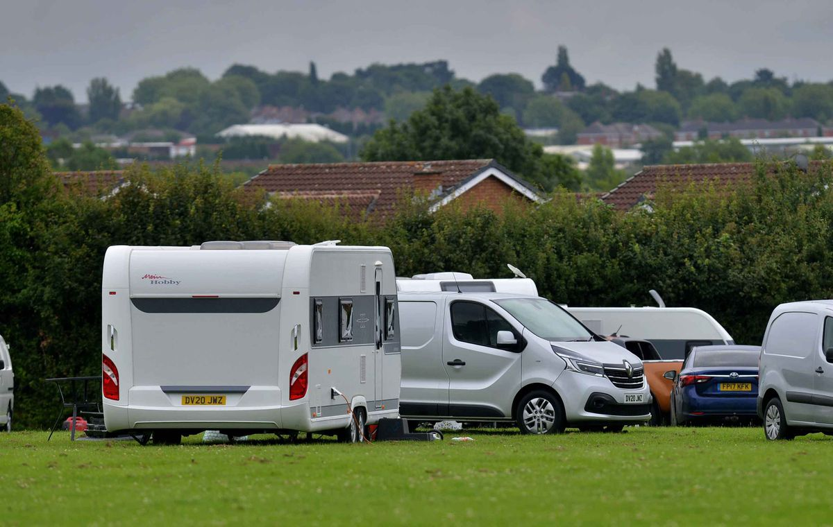 Travellers in Shelfield