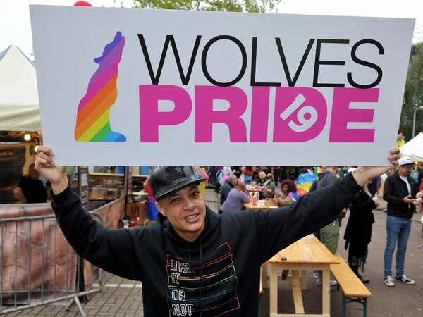 WATCH: Rainbow flags fill city centre for Wolves Pride 2019