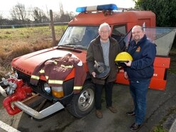 GALLERY: Goodyear fire engine restored in tribute to iconic tyre plant