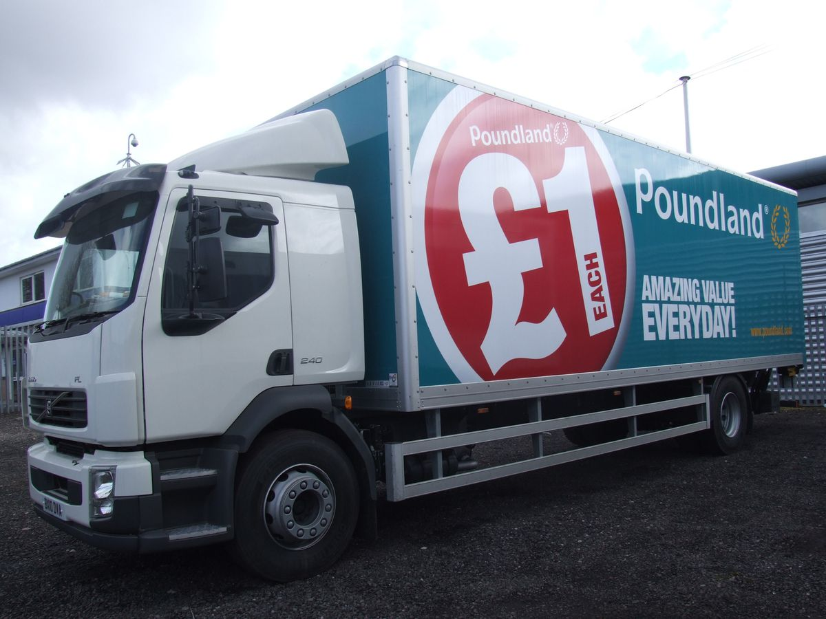 Poundland is trying to find 100 more lorry drivers