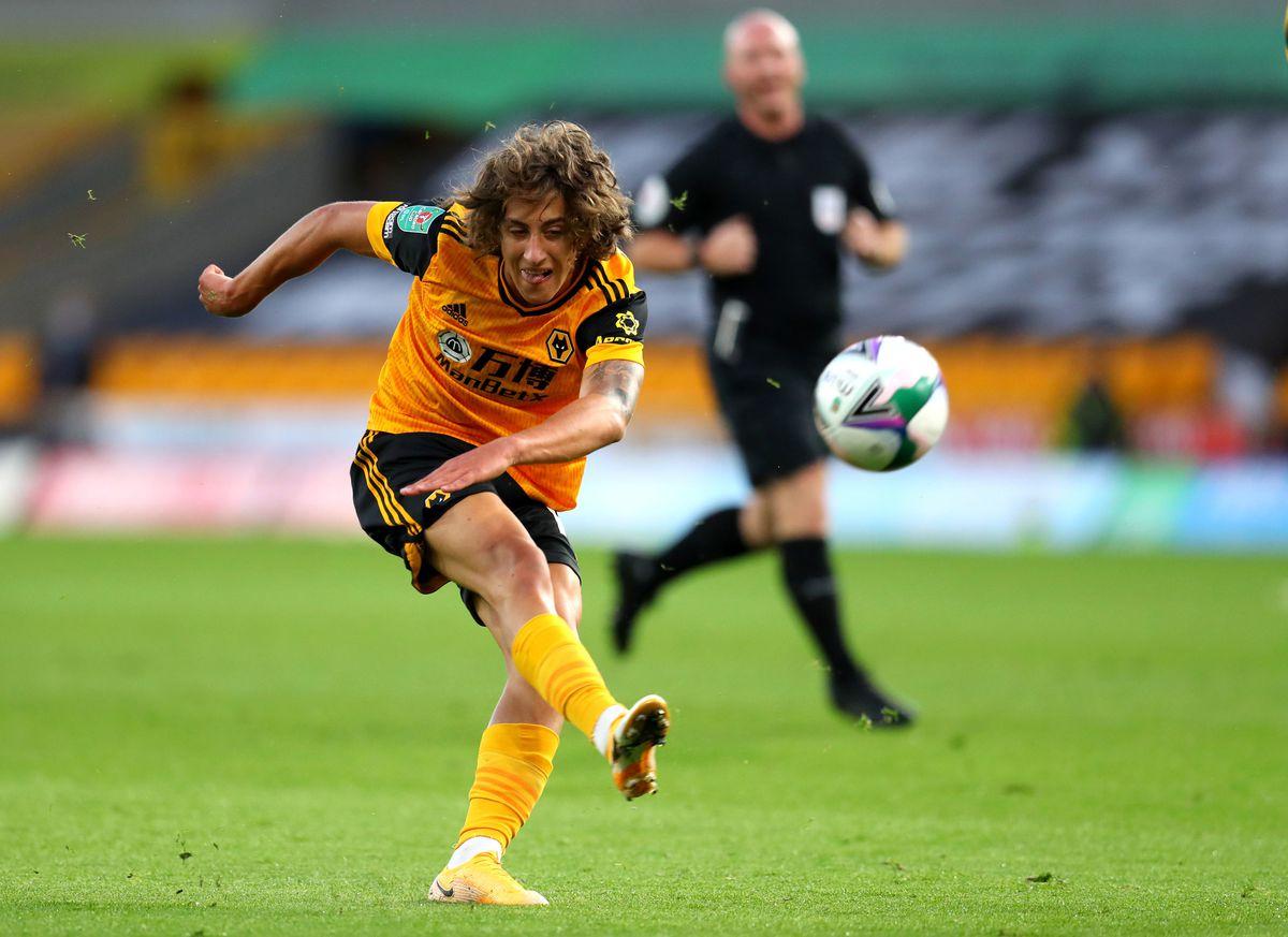 Wolverhampton Wanderers' Fabio Silva (PA)