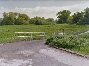 Land off Fairway in Stafford which is set to be designated as a local nature reserve. Photo: Google