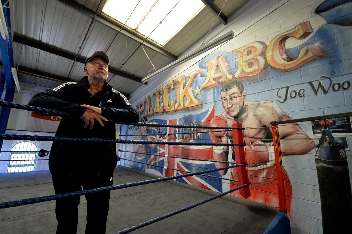 Terry Leonard at Pleck Amateur Boxing Club, which has been told to leave its premises by September unless it can find £18,000