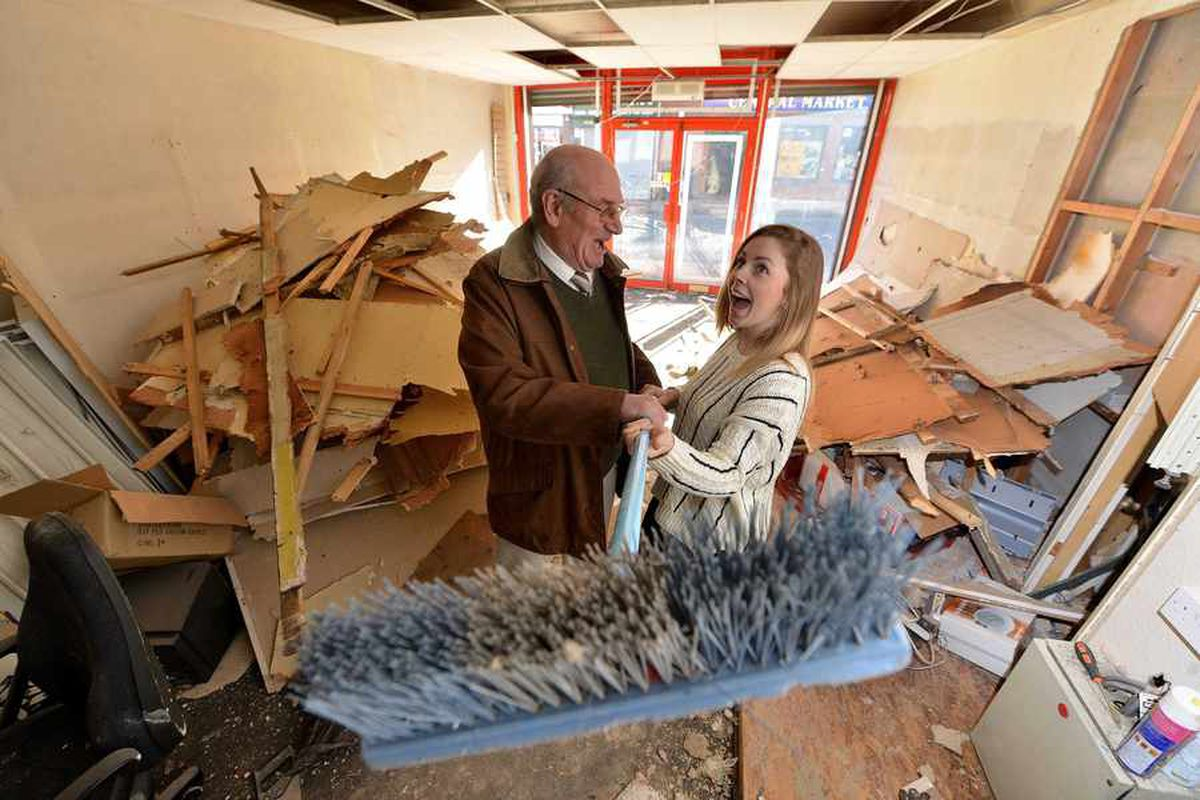 Steve Letherbarrow, company director, and Natasha Aston, landlady of The Blackcountryman in Brierley Hill, who at 20 is the second youngest licensee in the country