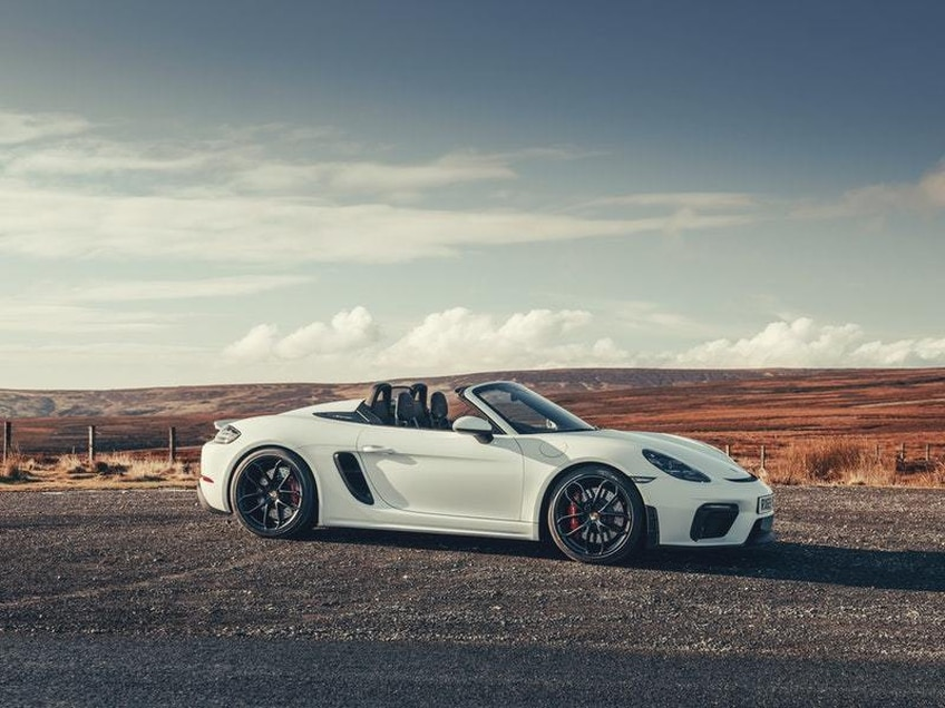 First drive: The Porsche 718 Spyder is the ultimate summer track car
