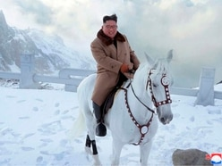 North Korean leader Kim Jong Un vows to fight US sanctions