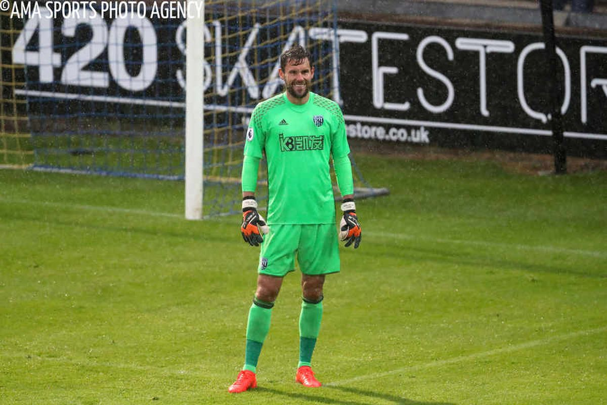 West Brom keeper Ben Foster defends his goal-kick routine