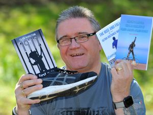 Glyn Marston has written three books in as many months and says his epilepsy doesn't hold him back from achieving his goals