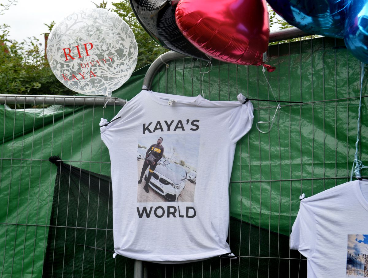 T-shirts have been made in memory of Will and Kaya, pictured