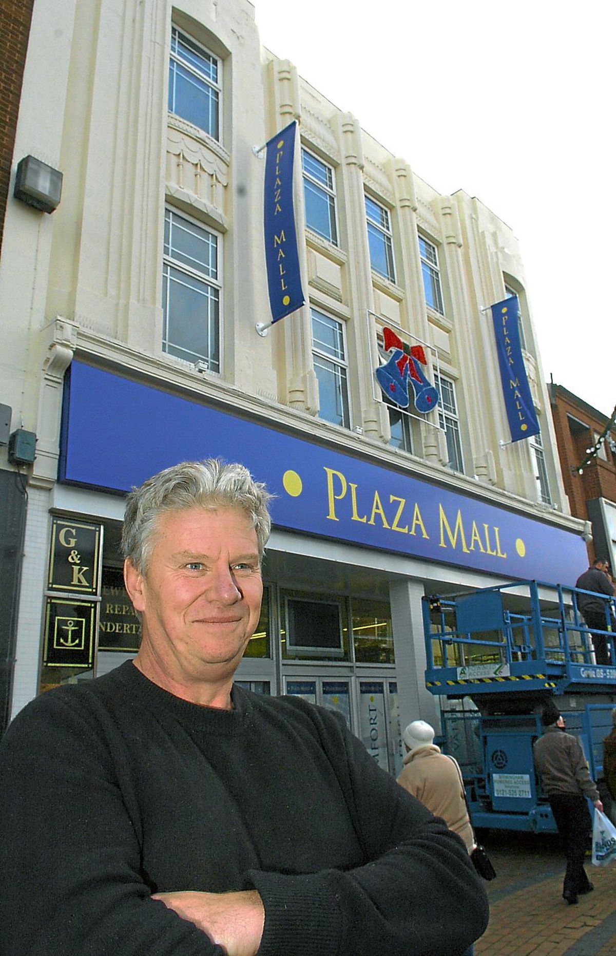 Tony Swannie converted the Dudley Woolworths into the Plaza Mall shopping arcade